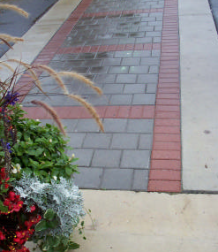 Unit Pavers (side streets)