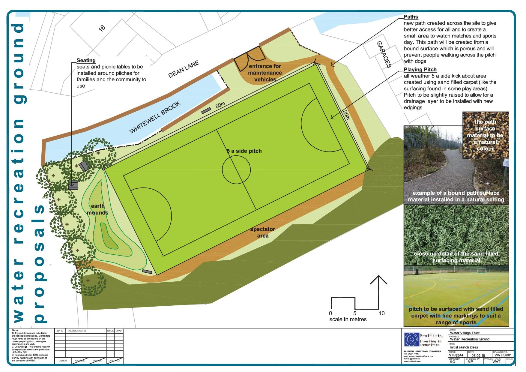Water Recreation Ground - Sketch Design