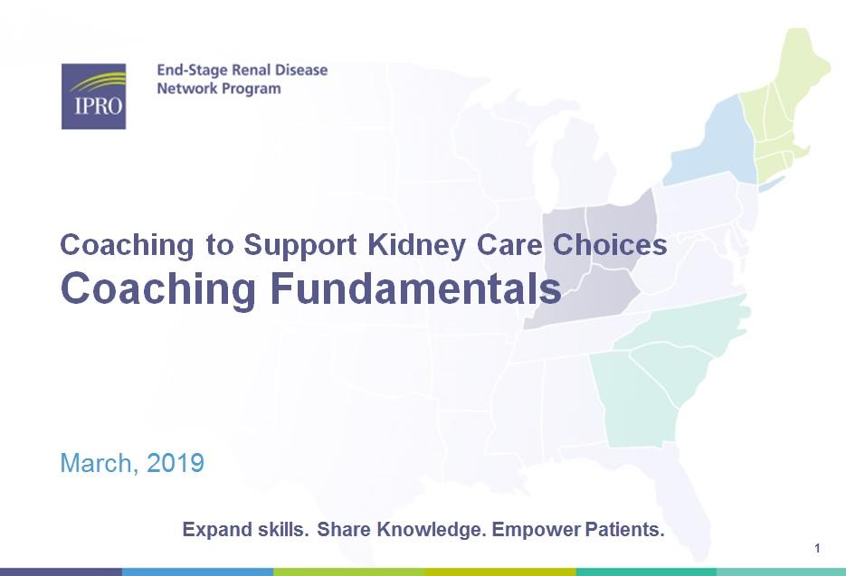 Patient Health Coach: Coaching Fundamentals Module
