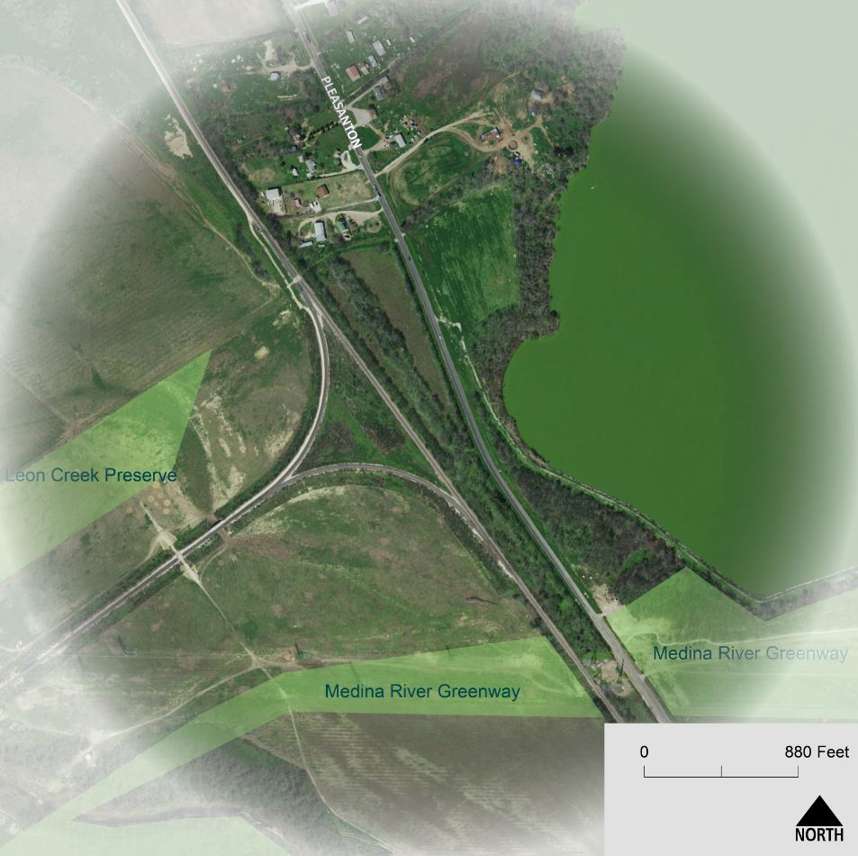 Focus Area #3 -Pleasanton Road and Medina River Greenway Trailhead