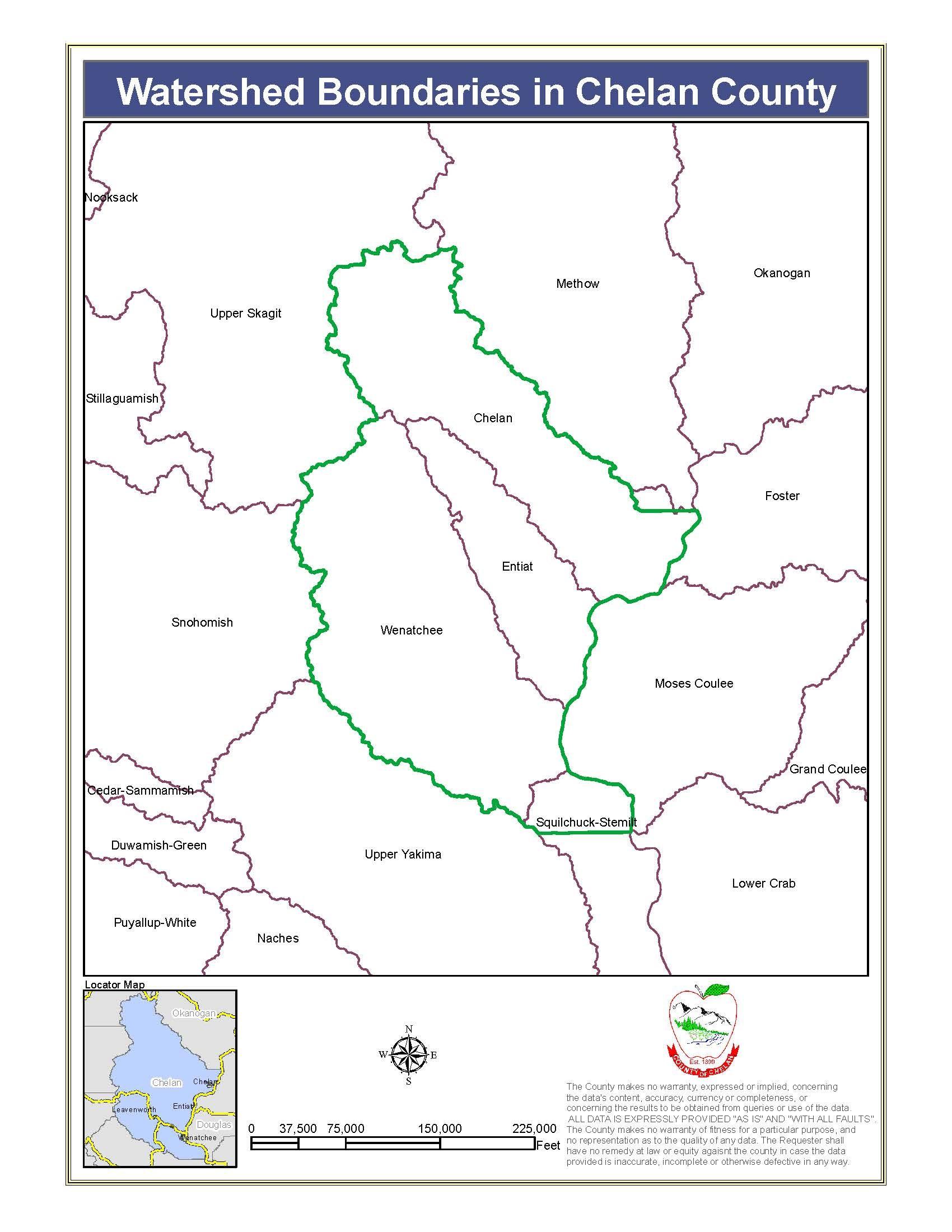 Chelan Watersheds