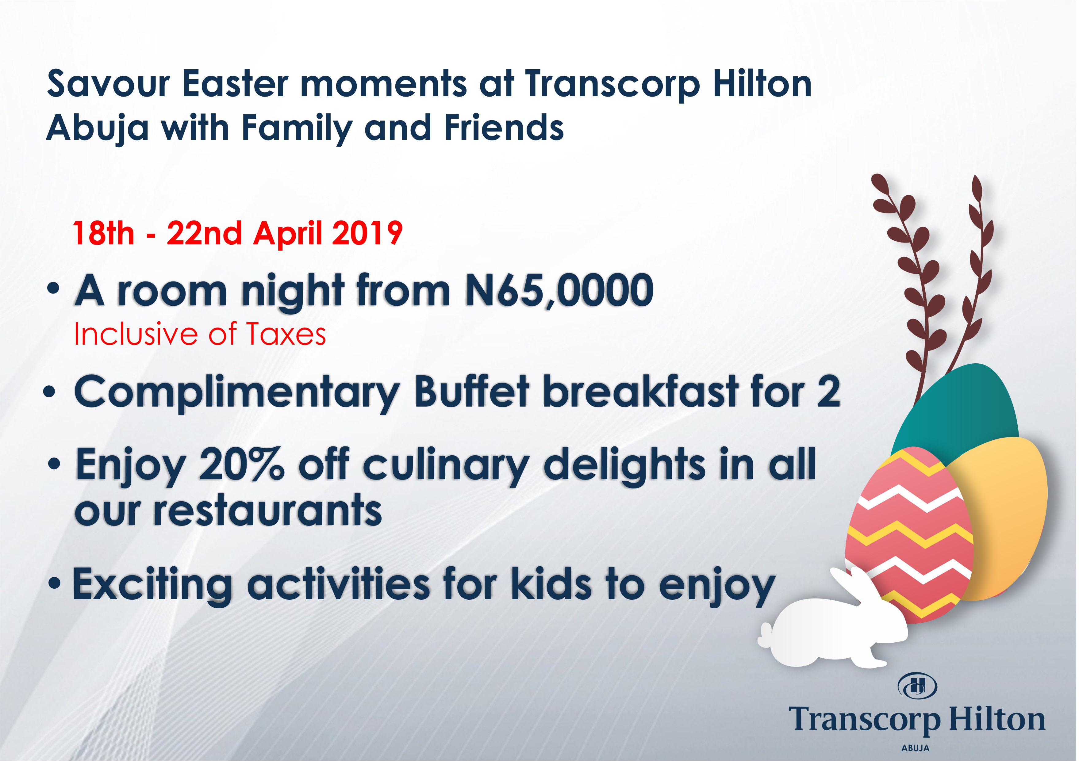 <strong>1. Transcorp Hilton Abuja</strong>