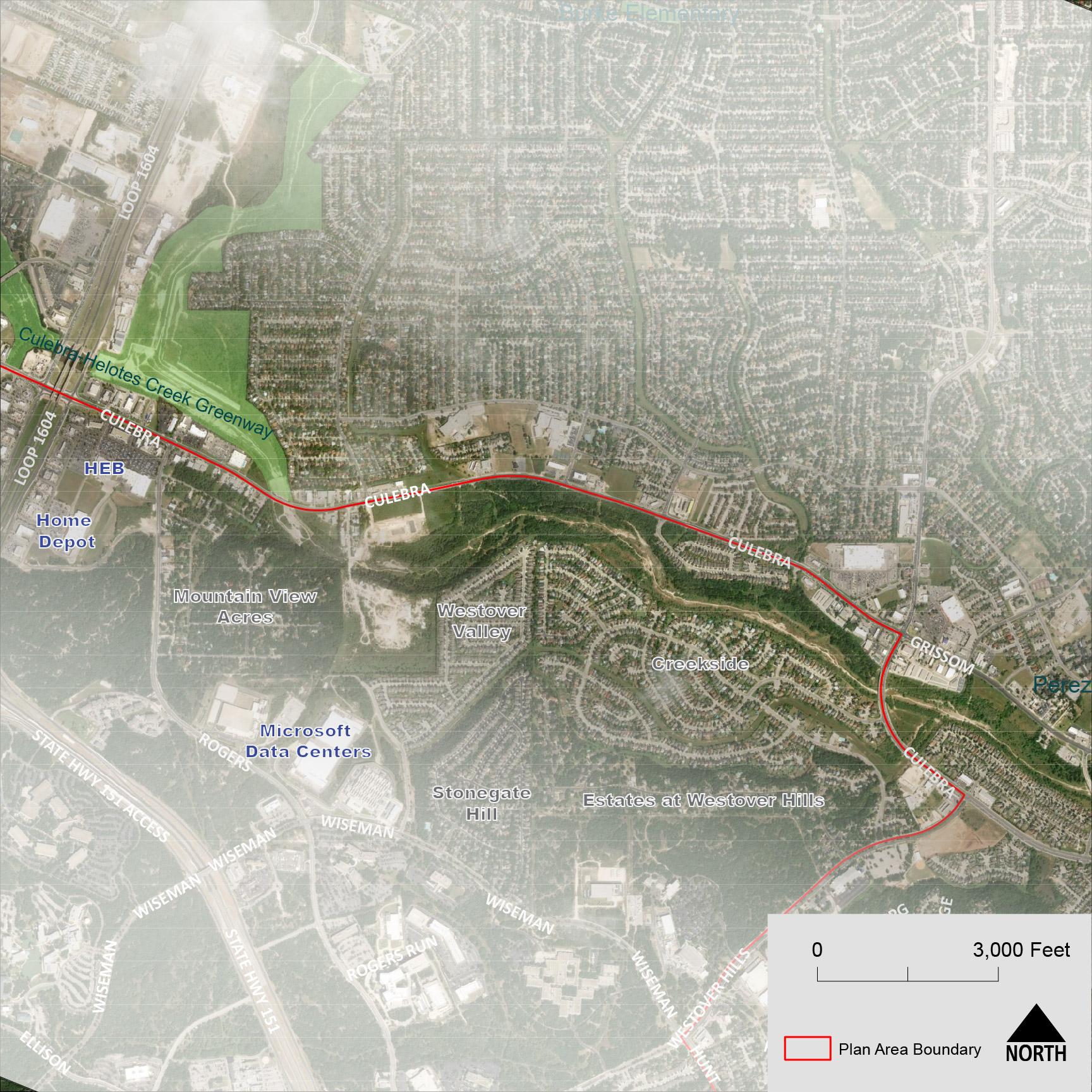 Focus Area #1: Culebra Creek Greenway