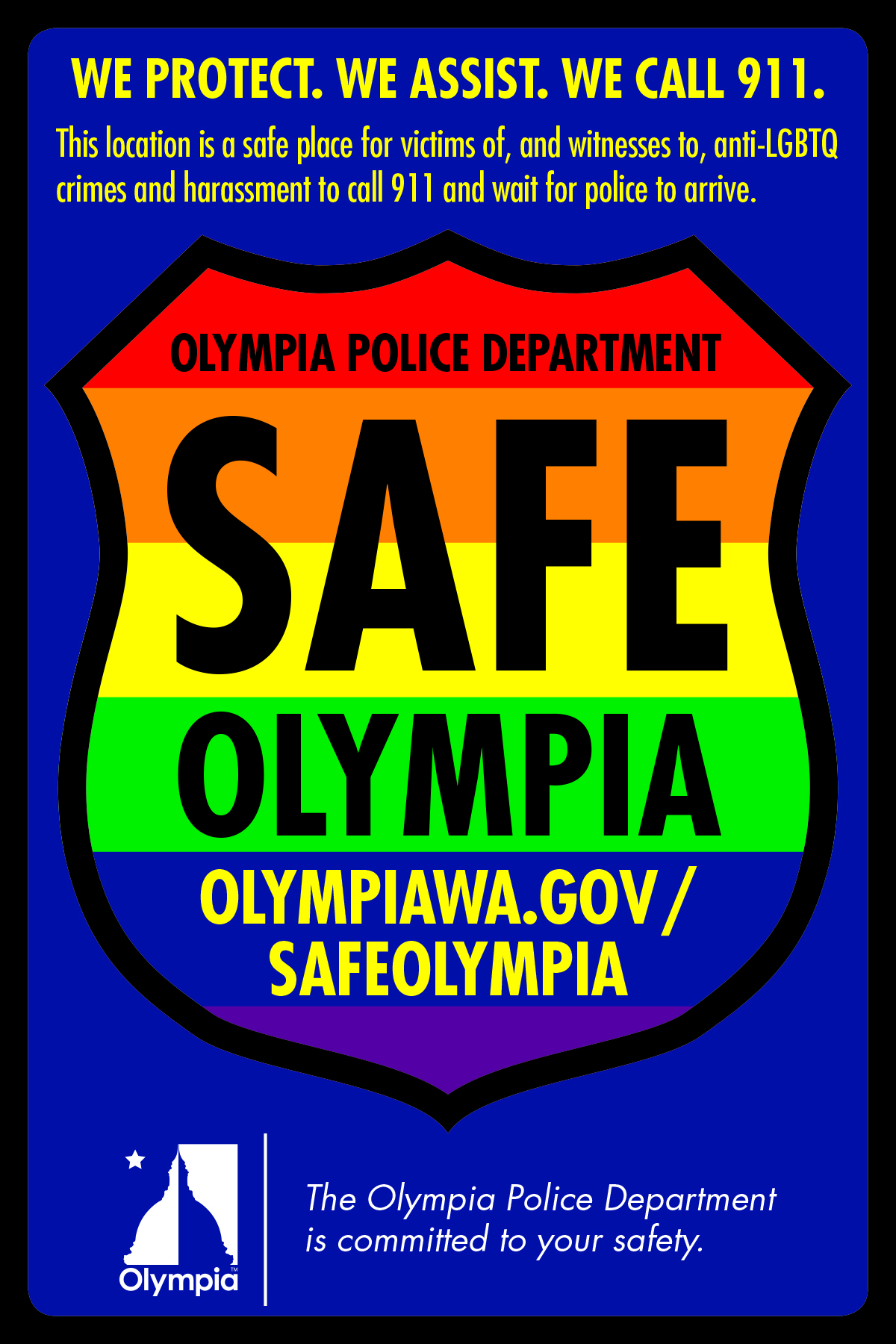 Safe Olympia Request Form Survey