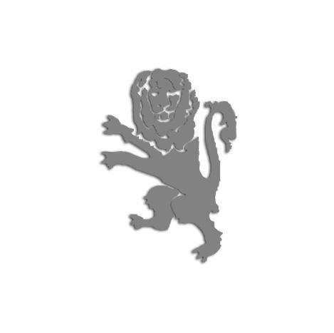E. Laser Cut Lion