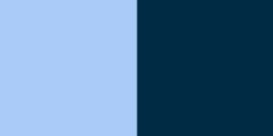 C. Light Blue and Dark Blue