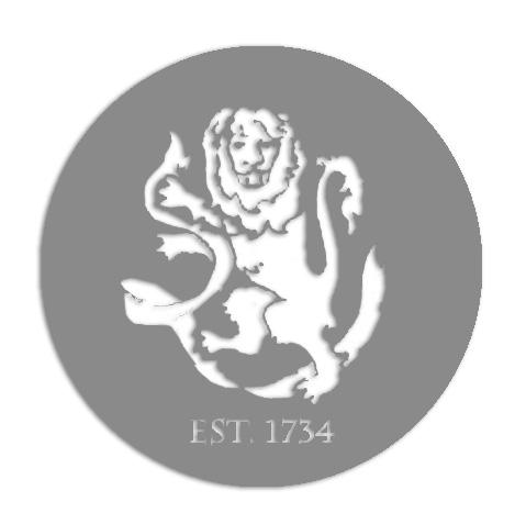 D. Laser Cut-Out Lion
