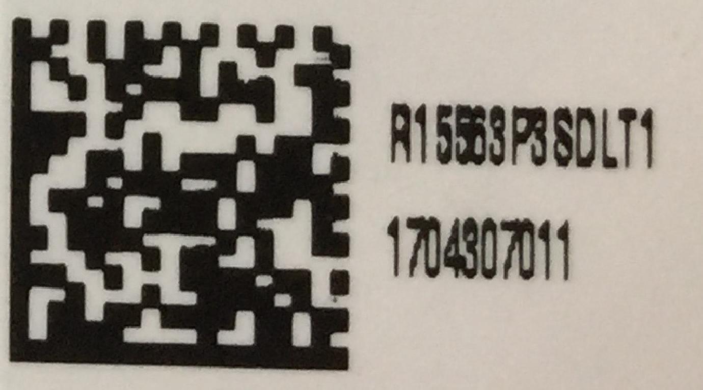 RESU10H s/n Label