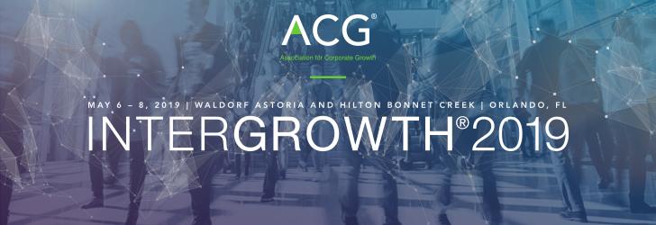 ACG INTERGROWTH® 2019 SURVEY