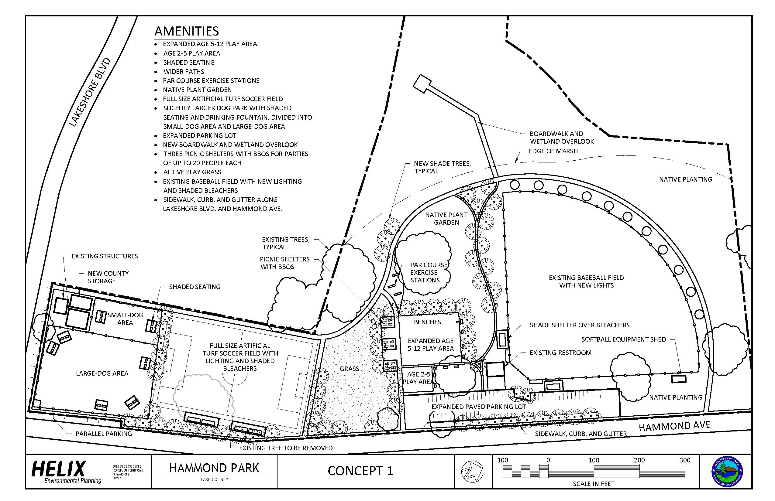 Hammond Park Concept 1