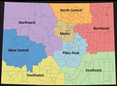 Colorado regions