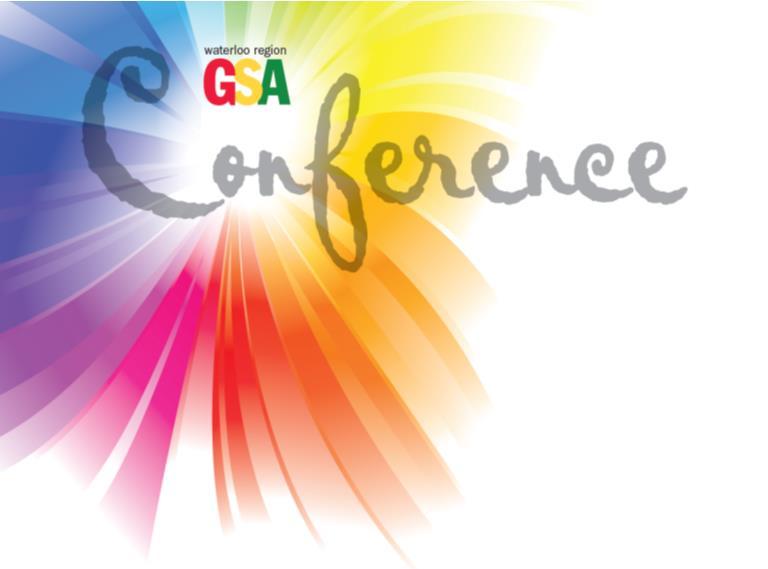 Waterloo Region GSA Conference