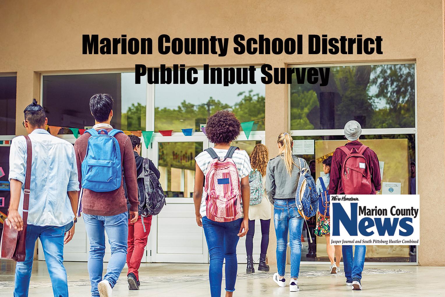 Public Input - Marion County Schools Survey