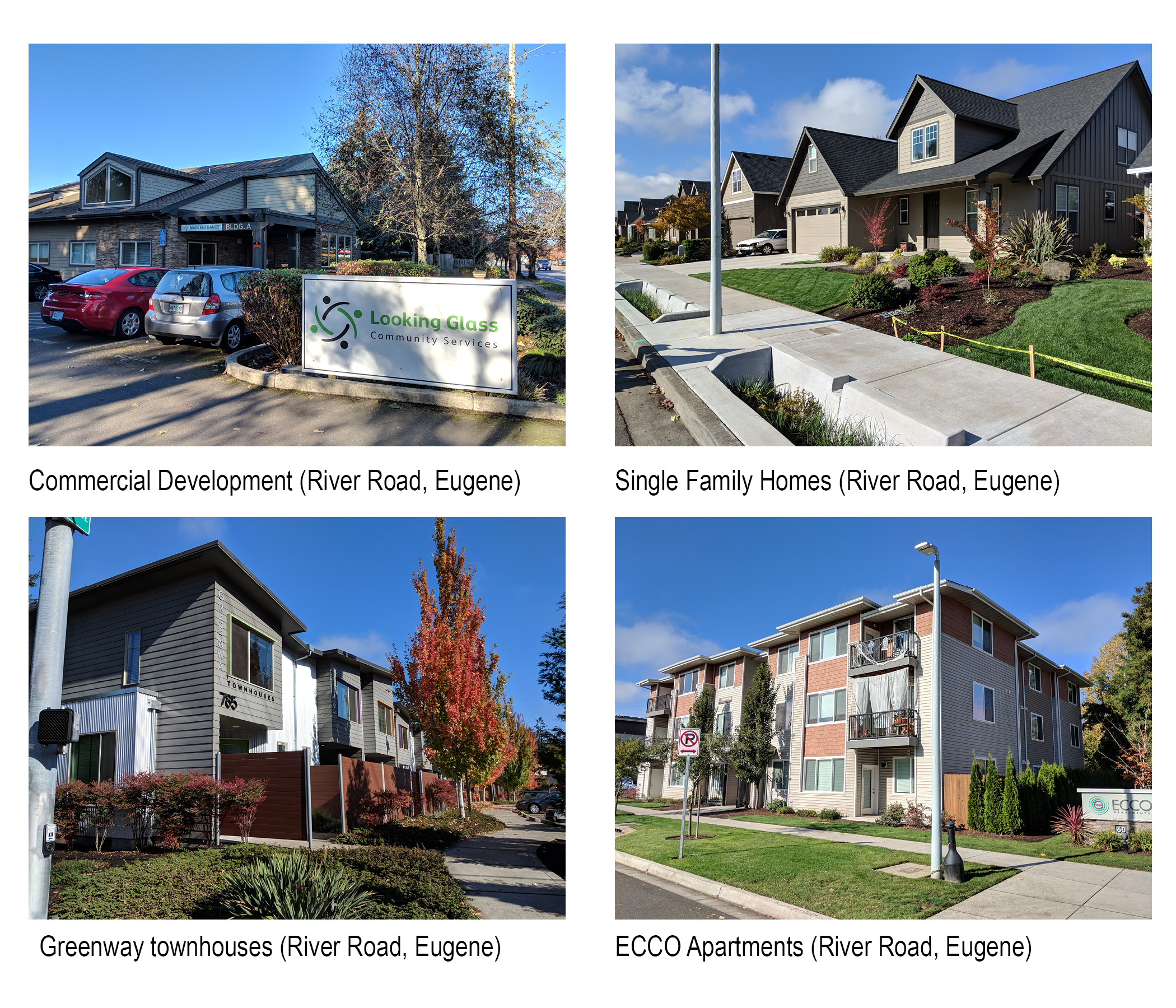 """<span style=""""color: #36545f;""""><strong>Recent projects on River Road developed under current zoning</strong></span>"""