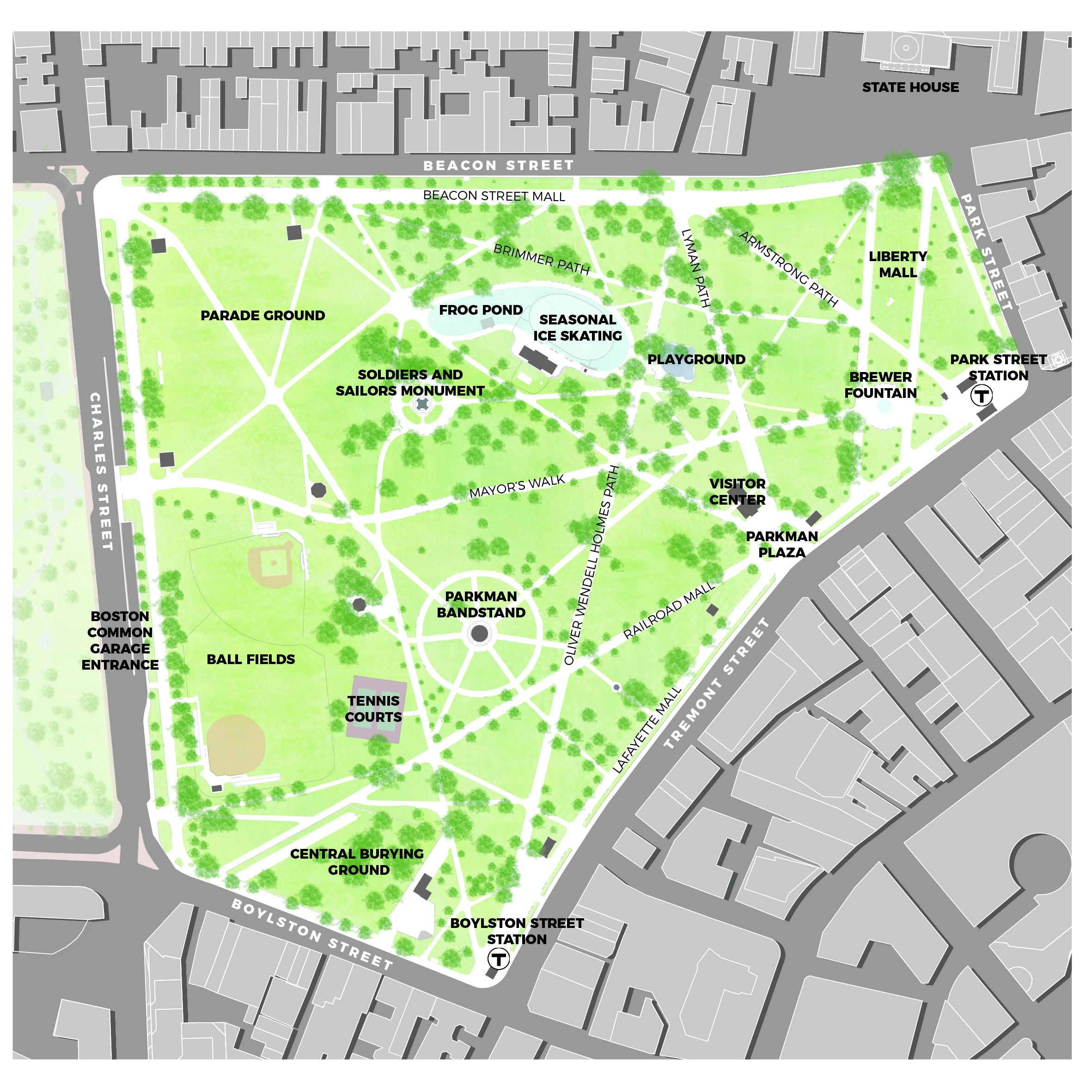 波士頓公園現狀