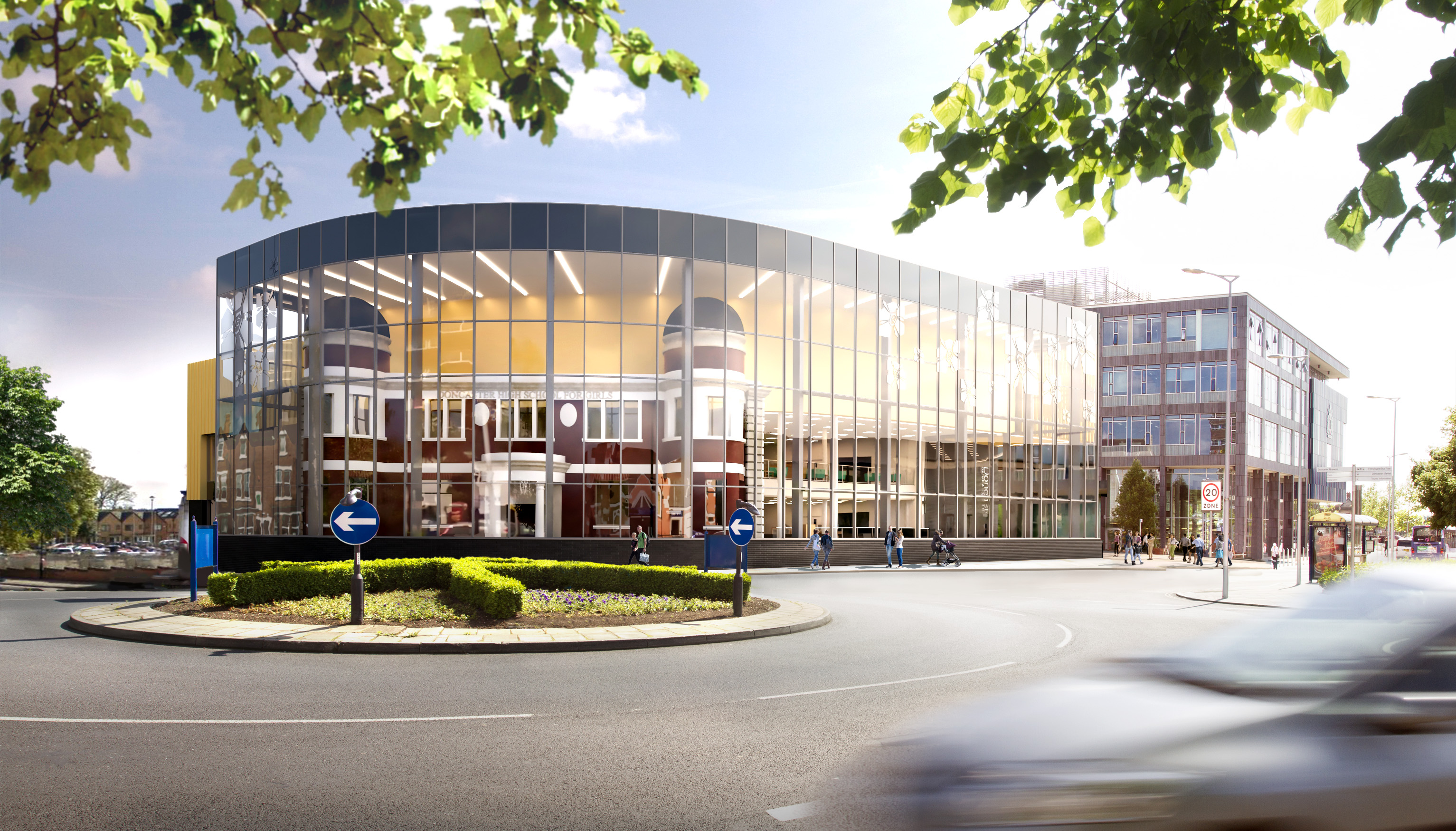 New Central Library and Museum artist impression