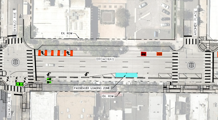 "<span style=""text-decoration: underline;""><strong>Loading Zones</strong></span><br><br>The turquoise rectangle in the image below represents a proposed location for a loading zone on the South Segment of Broadway.<br><br>The full list of proposed loading zones on the east side of South Broadway is:<br> <ul> <li><strong>Broadway at Byers</strong></li> <li><strong>Broadway at Cedar</strong></li> <li><strong>Broadway between Archer and Bayaud</strong></li> <li><strong>Broadway at Ellsworth</strong></li> </ul> <strong><a href=""https://www.denvergov.org/content/dam/denvergov/Portals/Transportation-Mobility/images/broadway/DMBroadway-loading-roll-Irvington-Center.jpg"" rel=""nofollow"" target=""_blank"">Click here</a> </strong>to open a detailed map of the South Segment to zoom in and further explore the proposed loading zones."