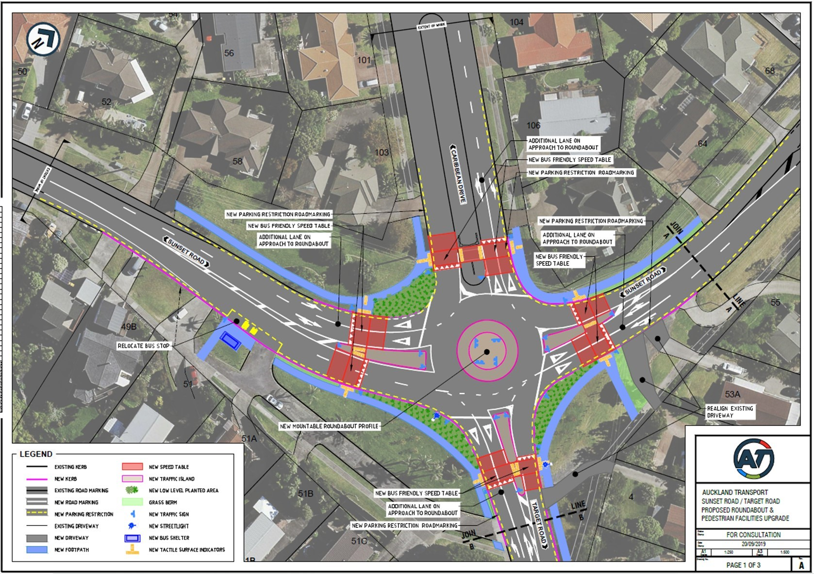 "<strong><span style=""color: #333399;"">Plans showing the changes to roundabout and other improvements</span></strong>"