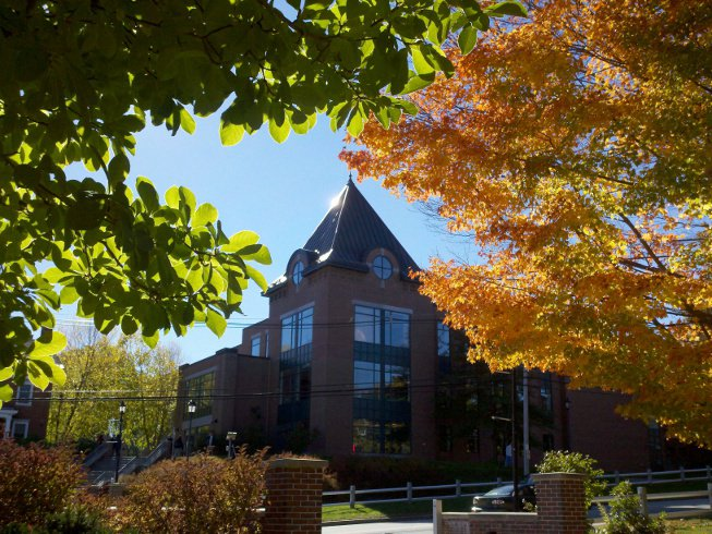Lamson Library on October 13, 2010