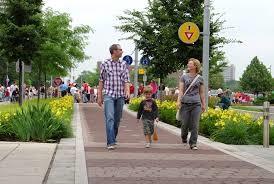 Wider sidewalks/off-street paths