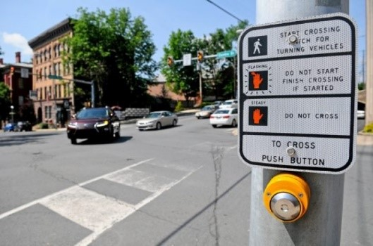 Signalized crosswalks