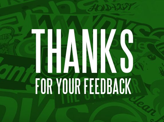 "<div style=""text-align: center;""> </div> <div style=""text-align: center;"">We appreciate your feedback. Thank you!</div>"
