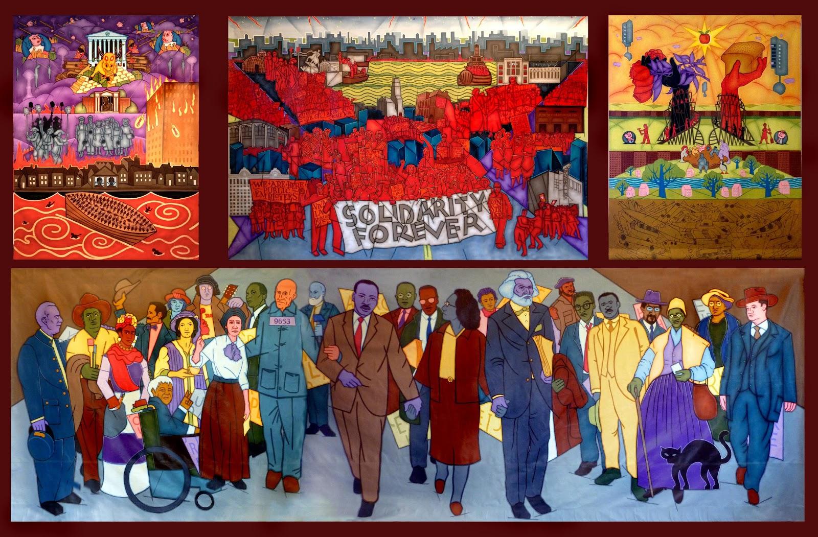 Cultural or Historic Murals