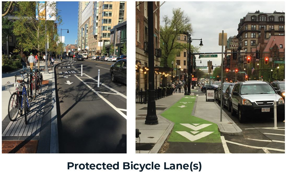 Protected Bicycle Lane(s)