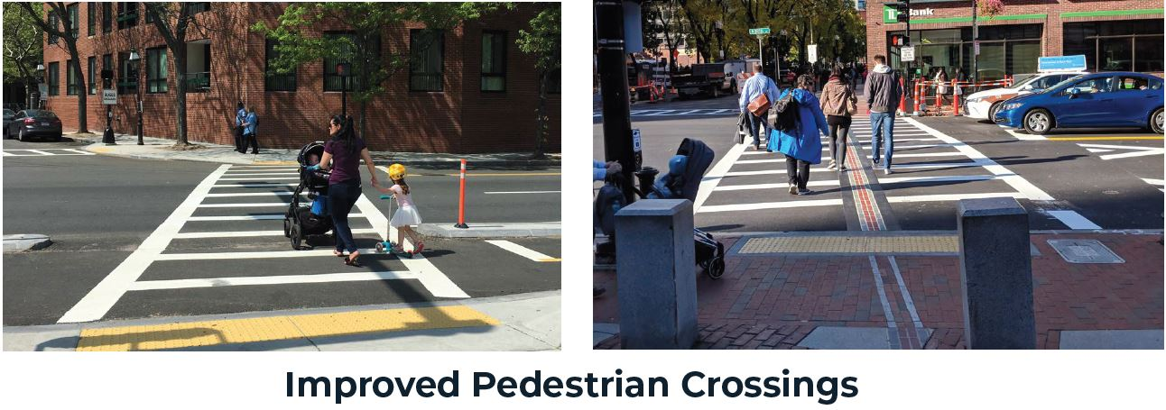 Improved Pedestrian Crossings