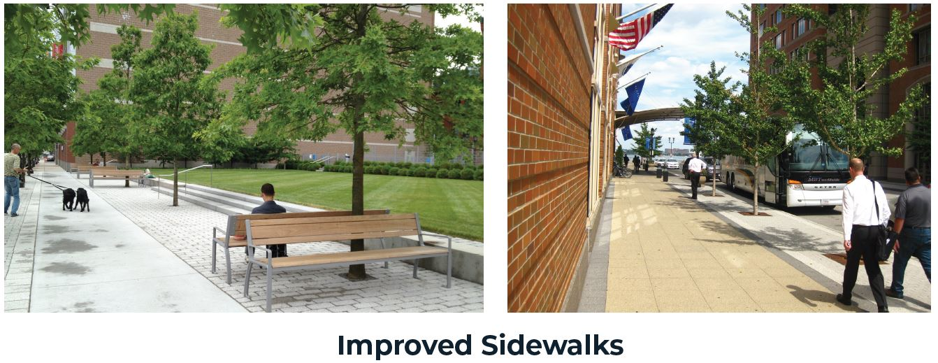 Improved Sidewalks