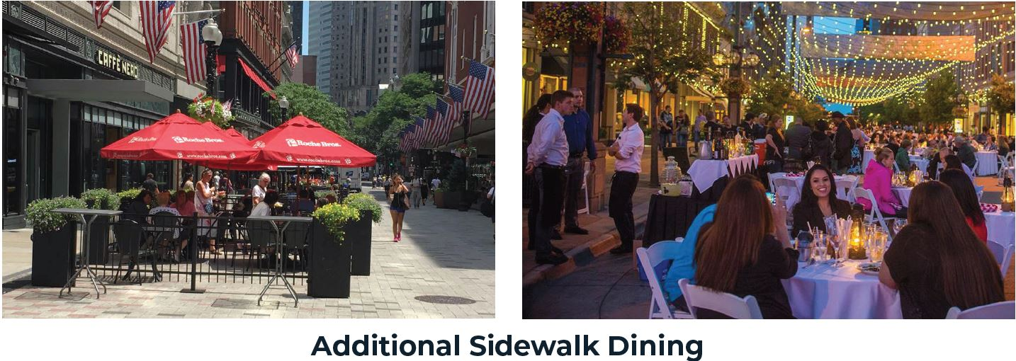 Additional Sidewalk Dining