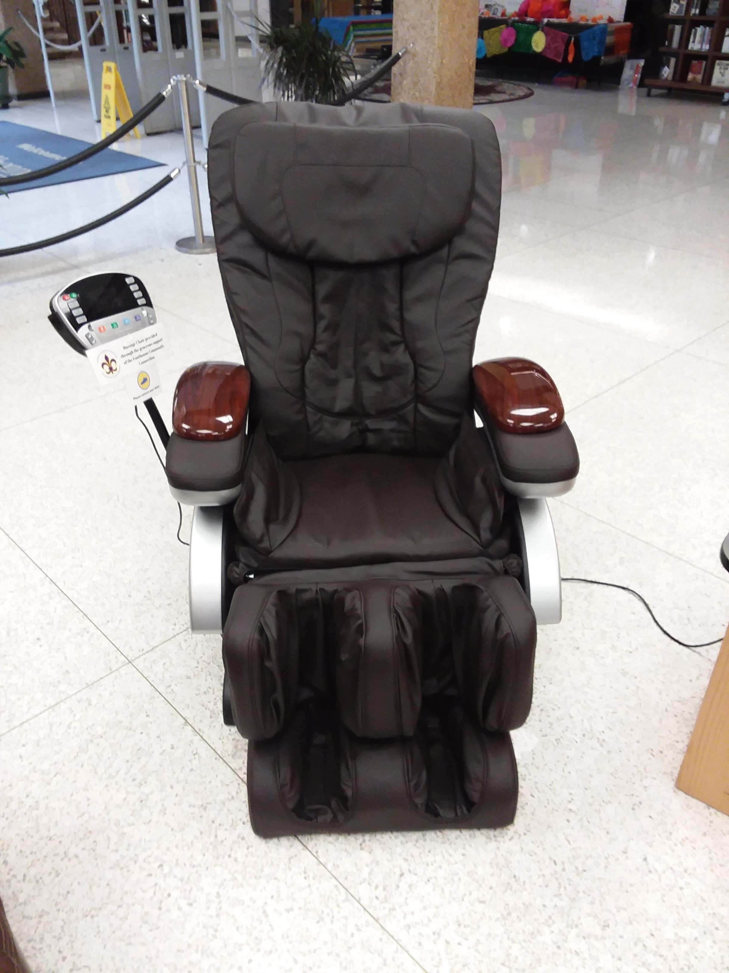 5) One additional massage chair