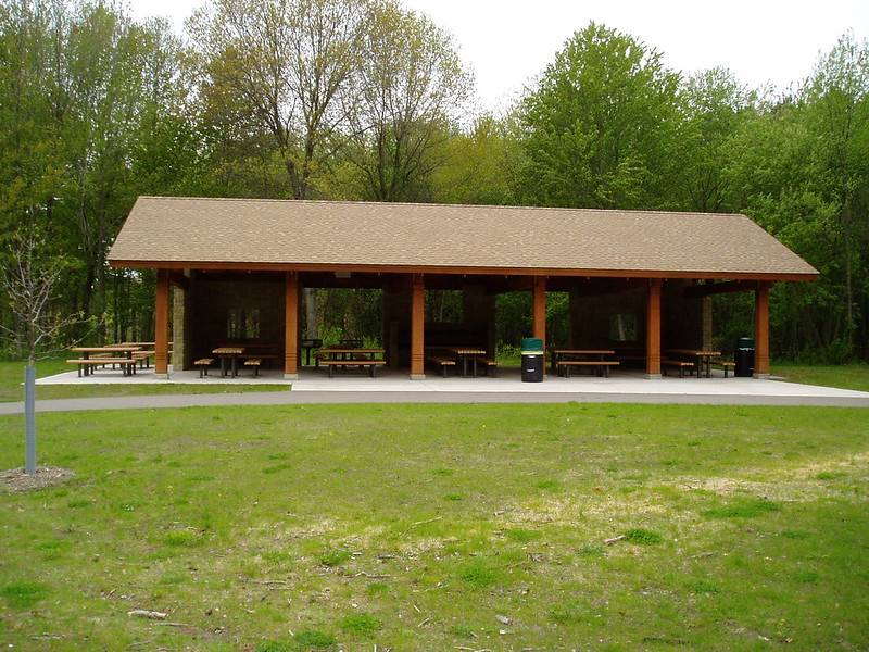 Example of a picnic shelter