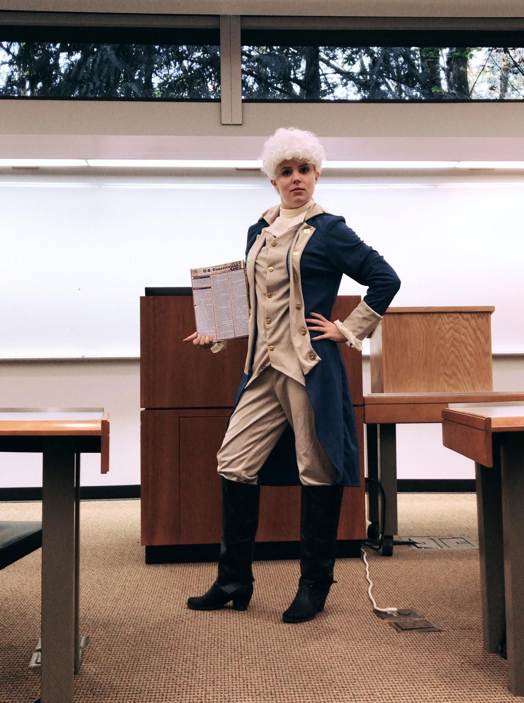 "2. ""George Washington"" by Alexandra Lewis (1L Law Student)"