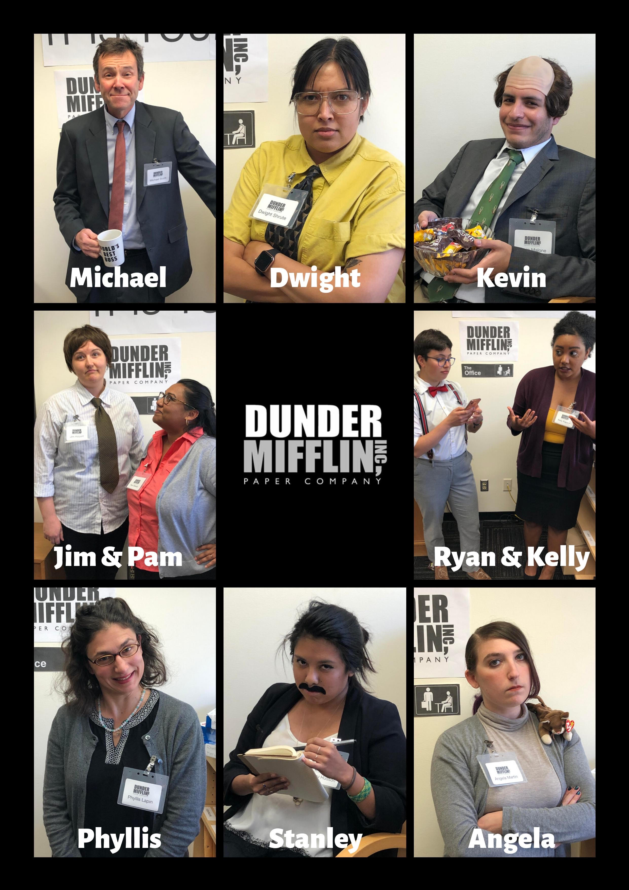 """23. """"Dunder Mifflin Paper Company from The Office"""" by Inclusion and Multicultural Engagement; International Students and Scholars"""