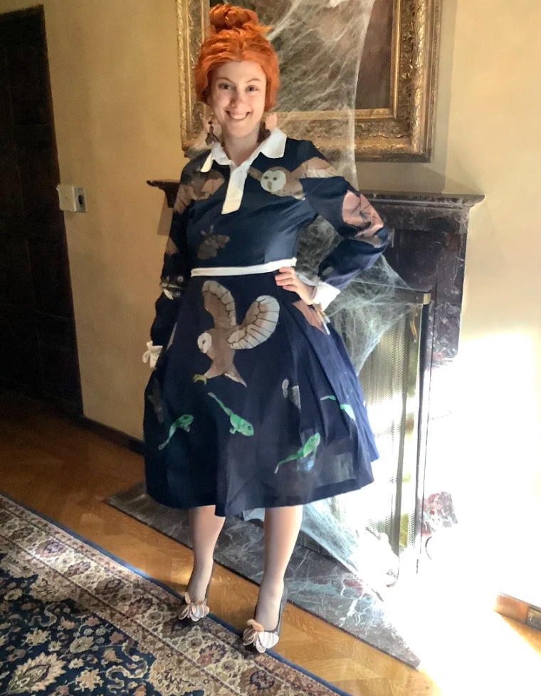 """14. """"Miss Frizzle"""" by Falcon Garfein (CAS Student)"""