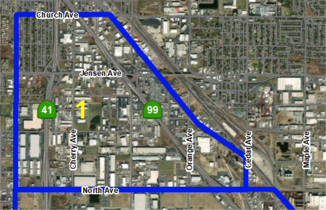 Area 1:North Ave to Church Ave