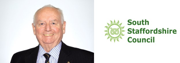 """<span style=""""font-size: 12pt; color: #23772c;""""><strong>Councillor Brian Edwards MBE</strong></span><br><span style=""""font-size: 12pt;"""">Leader of South Staffordshire Council</span>"""