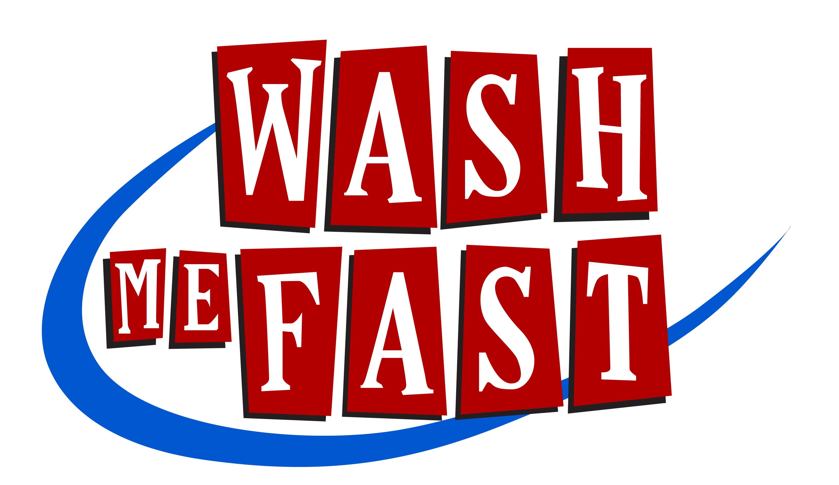 Clean, Fast, Fun Logo
