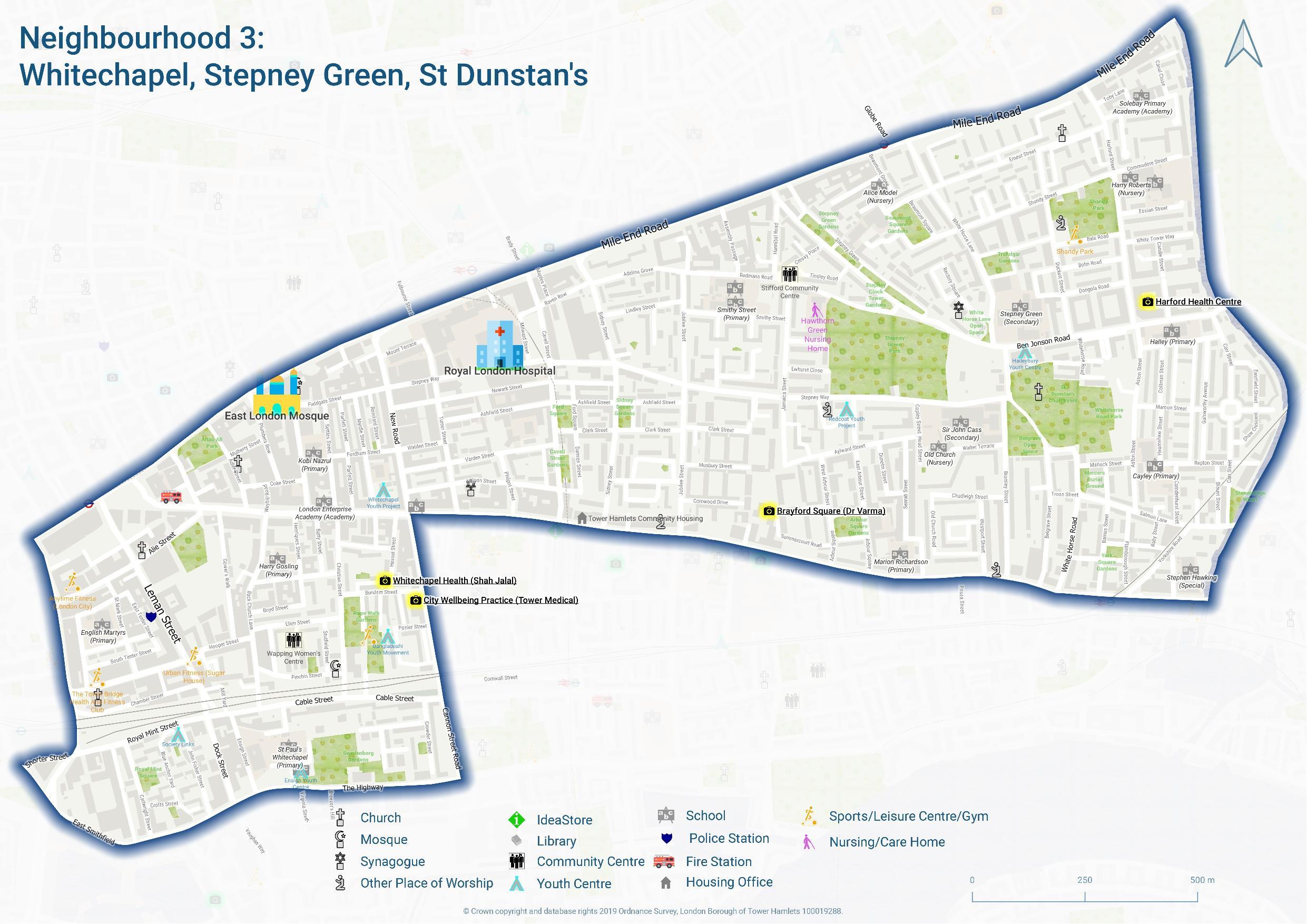 Whitechapel, Stepney, St Dunstans