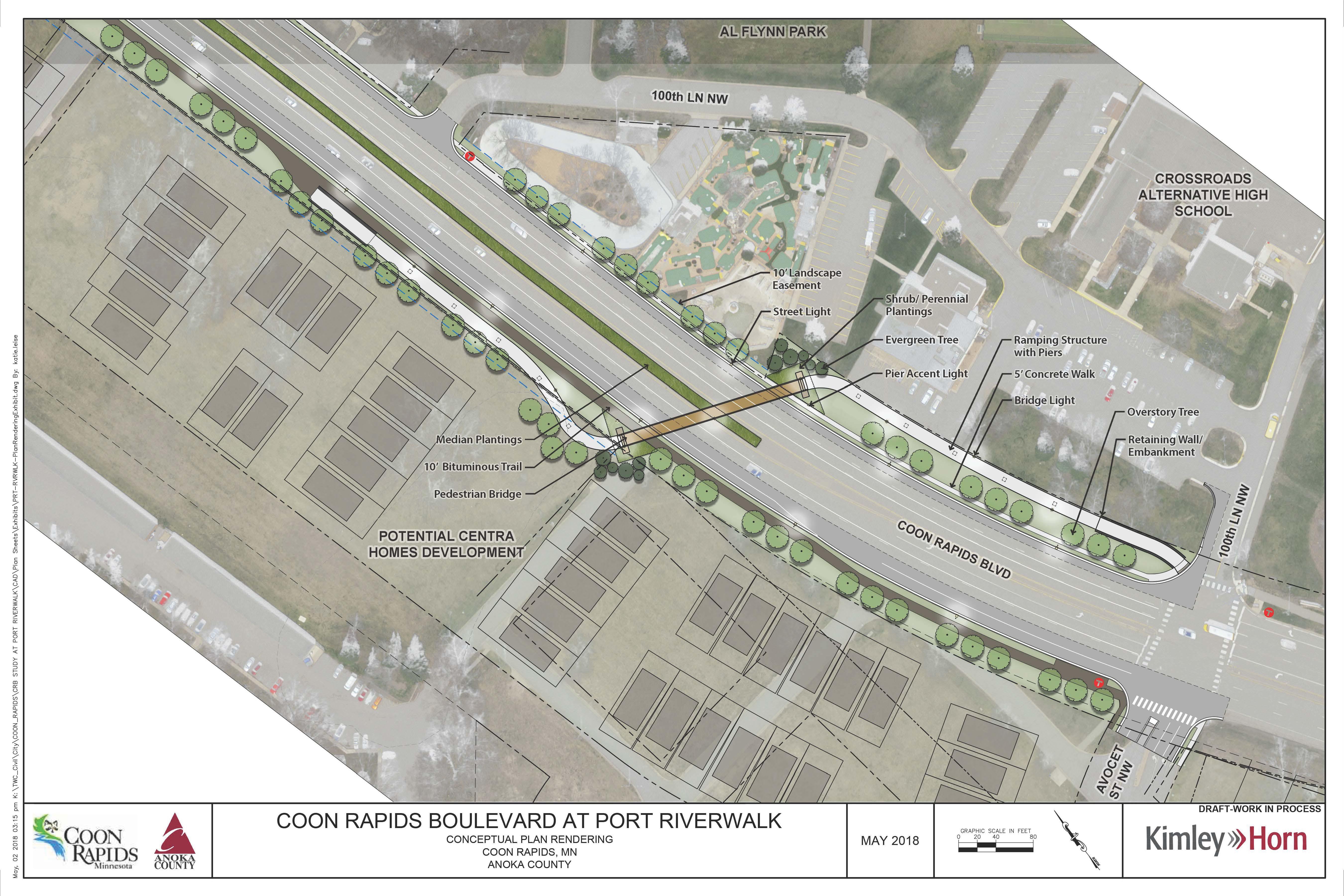 Pedestrian Bridge Concept Plan