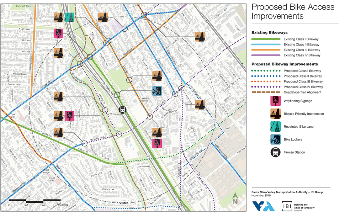 Proposed Bike Access Improvements