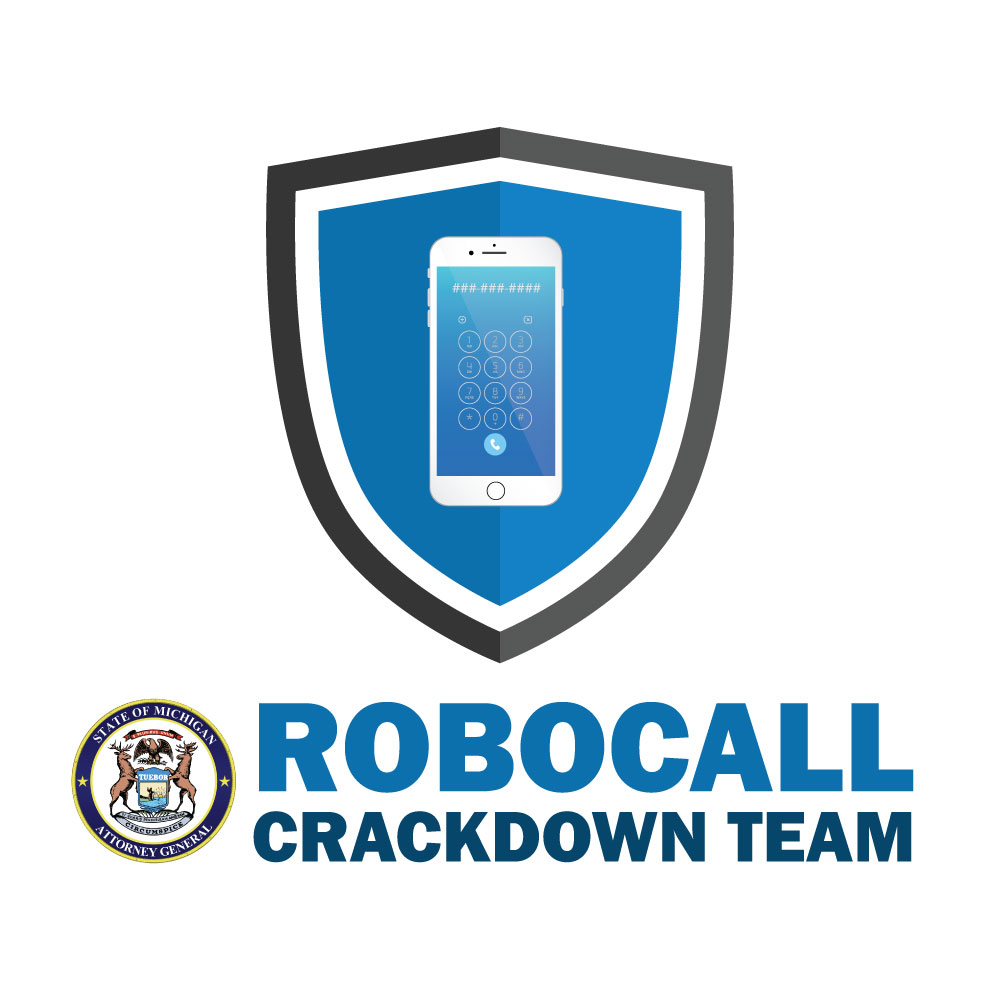 Robocall Crackdown Team logo
