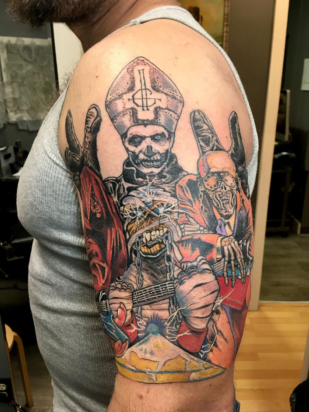 Pete Fortune, Fortune Tattoo