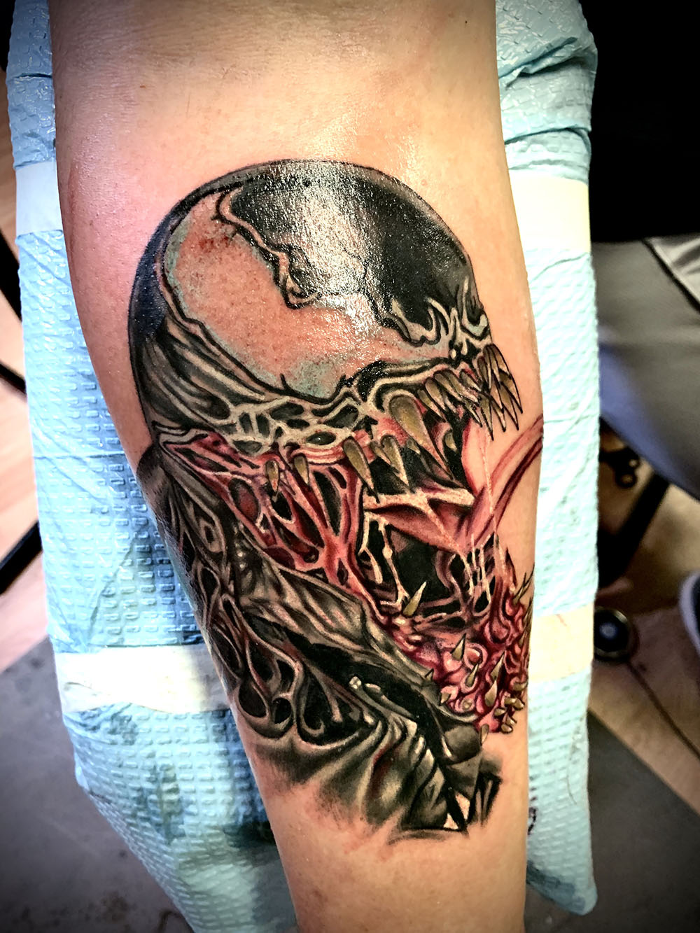 Joey Moreira,  Cloud 9 Tattoo Co