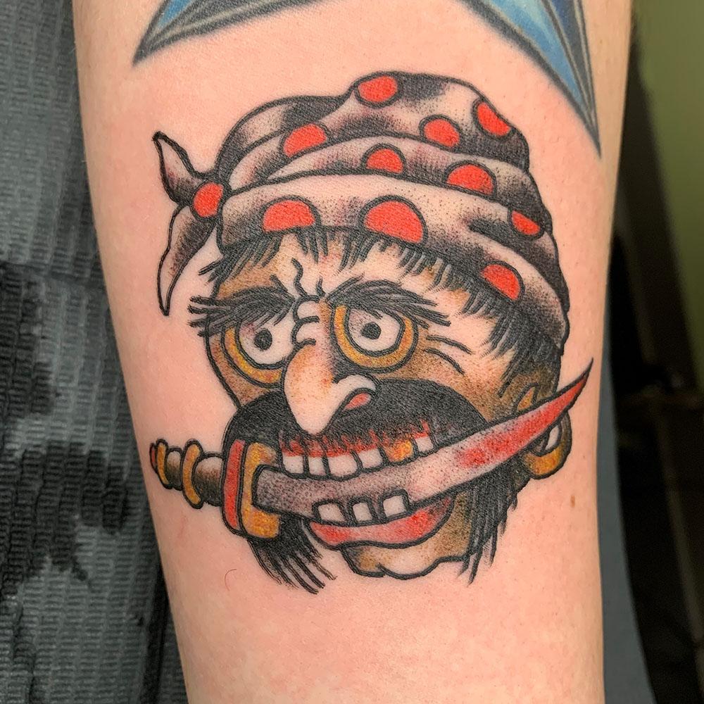 Jen Beirola, Anchor Steam Tattoo