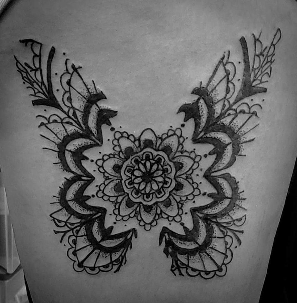 Rhiannon Spaziano, Phoenix Tattoo