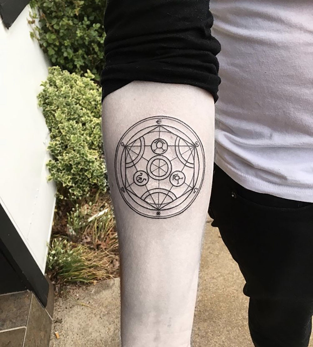 Amanda Kryla, Black Heart Tattoo