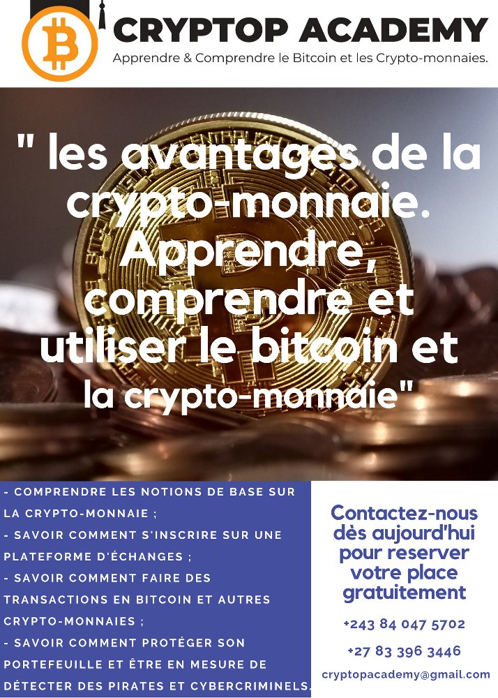 Apprendre et comprendre le bitcoin et la cryptomonnaie