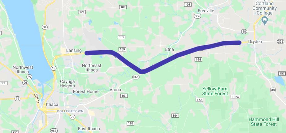 State Route 13 Corridor Study Area